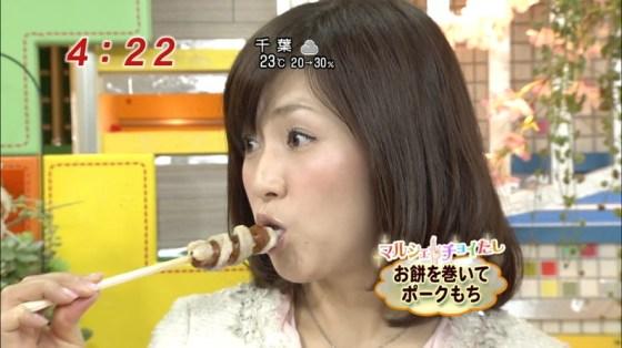 【擬似フェラ画像】完全に狙ってるだろと思うほどエロい顔しながら食レポする女達www 23