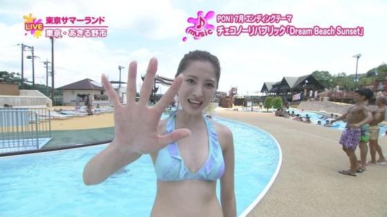 【水着キャプ画像】夏本番!こぞってテレビでも水着美女を紹介し始めましたよwww 18