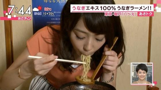 【擬似フェラ画像】食レポやってる女性タレントの口元と表情がエロくておもわず口マンコ犯したくなるww 02