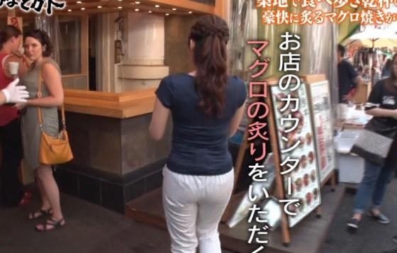 【お尻キャプ画像】テレビでプリップリのお尻が映ると思わず股間がピクつくんだがww 23