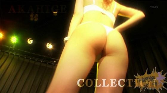 【お宝エロ画像】ケンコバのバコバコTVでTバック美女が四つん這いになってアナルはみ出す放送事故ww 13