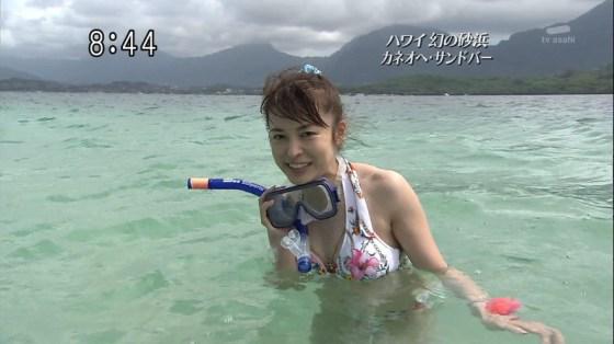 【水着キャプ画像】この時期テレビ局は水着美女のオッパイで視聴率上げまくるww 14