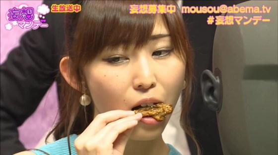 【擬似フェラキャプ画像】女子アナやアイドルって食レポの時にわざとこんなエロい顔してるのか?ww 09