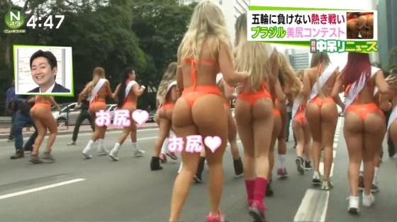 【お尻キャプ画像】美尻んピックここに開催wブラジルのお尻もいいけど日本も負けてませんよww 02