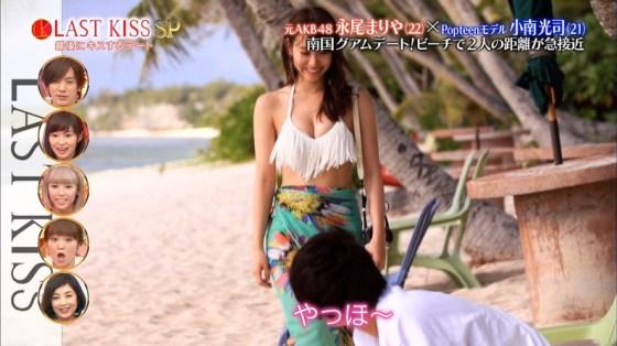 【水着キャプ画像】まだまだ夏は終わらない!海に水着美女達がいる限り映しまくるテレビ業界ww 21