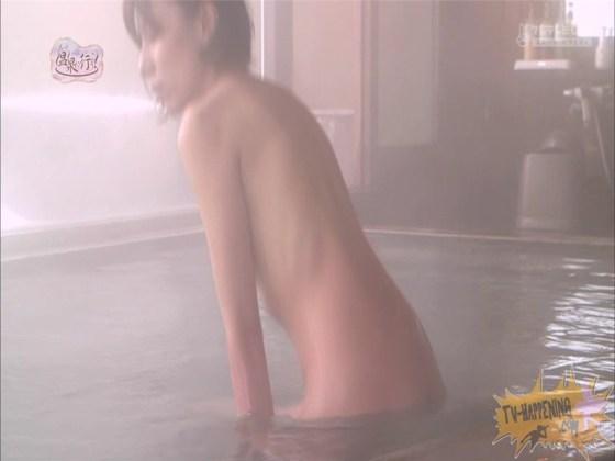 【お宝エロ画像】人気温泉番組もっと温泉に行こうで美女の生尻が見放題ww際どいシーンがタマランw 25
