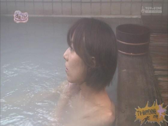 【お宝エロ画像】人気温泉番組もっと温泉に行こうで美女の生尻が見放題ww際どいシーンがタマランw 58
