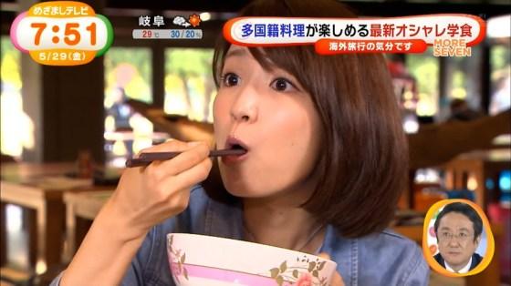 【擬似フェラキャプ画像】タレント達が食レポと言う名の擬似フェラさせられてエロ顔満載ww 09