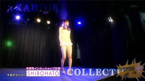 【お宝エロ画像】ケンコバのバコバコTVで美女達が透け透けの下着来て登場してたぞww 10