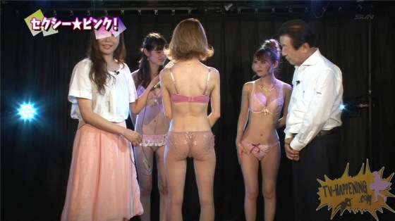【お宝エロ画像】ケンコバのバコバコTVで美女達が透け透けの下着来て登場してたぞww 29
