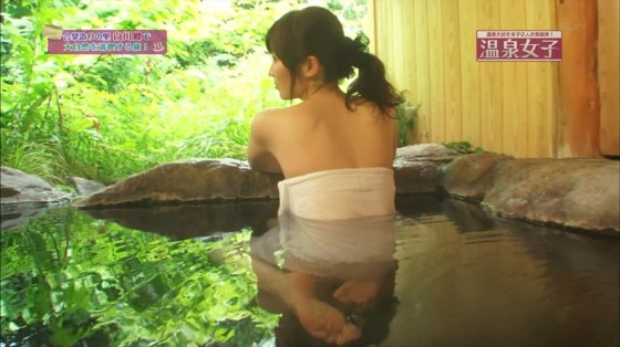 【温泉キャプ画像】温泉レポートで半乳晒してる女達って露出癖があるのか?ww 17
