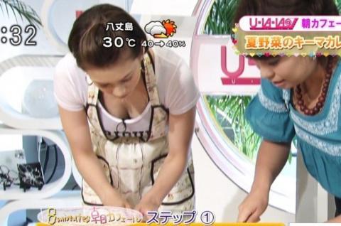 【放送事故画像】テレビでオッパイぷら~んwww 06