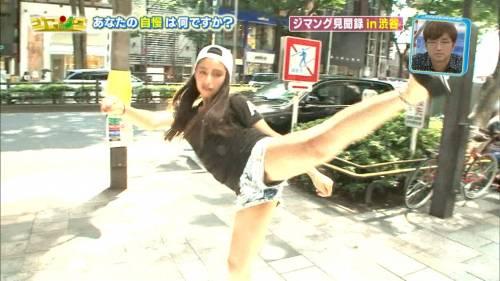 【放送事故画像】これ最高!テレビに映ったショートパンツの隙間ww 07