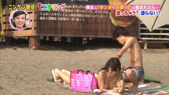 【放送事故画像】最近の水着って小さすぎないか?しかもそれをテレビに映すってwww 12