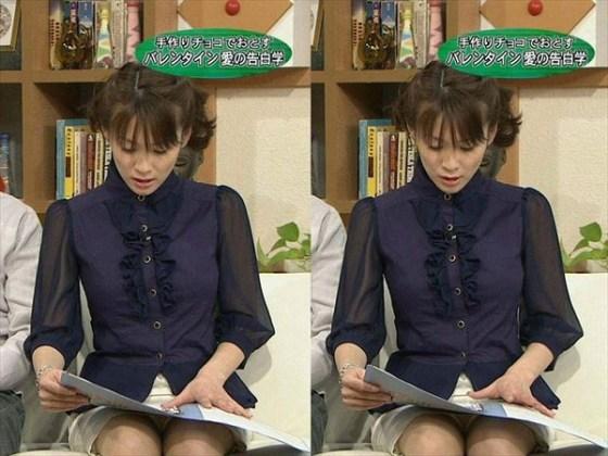 【放送事故画像】今日は何色のパンツでテレビに出よっかなぁ~wwスカートの中が気になる~ww 08