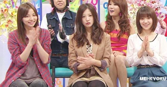 【放送事故画像】今日は何色のパンツでテレビに出よっかなぁ~wwスカートの中が気になる~ww 11