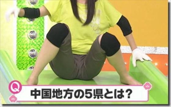【放送事故画像】マンコに食い込んでマンコの形もマンコの割れ目も丸わかりですよwww 15