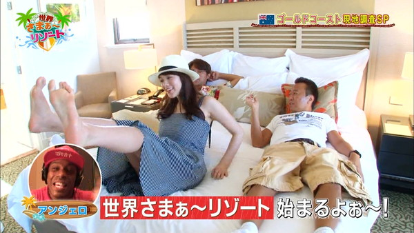【放送事故画像】テレビに映るスカートの中をよ~く覗いて見てごらんwww 01