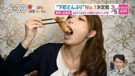 【放送事故画像】こんな食べ方してたら卑猥なこと妄想してもいいよなwww