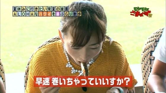 【放送事故画像】こんな食べ方してたら卑猥なこと妄想してもいいよなwww 10
