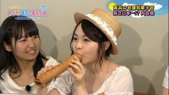 【放送事故画像】食レポのつもりなんでしょうけどその食べ方、食べ物がチンコに見えてしょうがないww 01