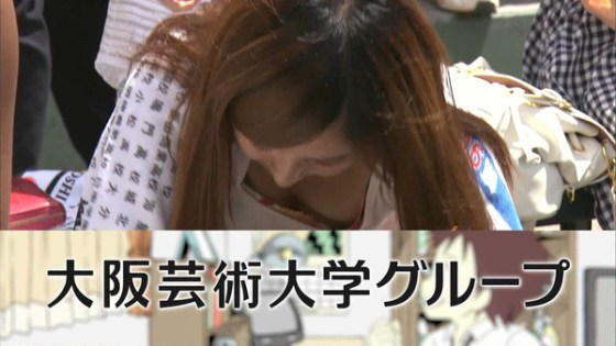 【放送事故画像】女性のオッパイは第二のお尻でしょwww 07