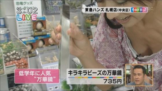 【放送事故画像】テレビで映った推定Dカップ以上のオッパイを集めてみましたwww 11