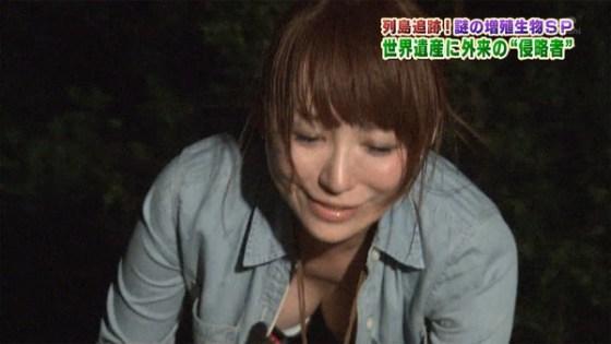 【放送事故画像】テレビ越しに巨乳で誘惑なんかしないでくださいwww 13