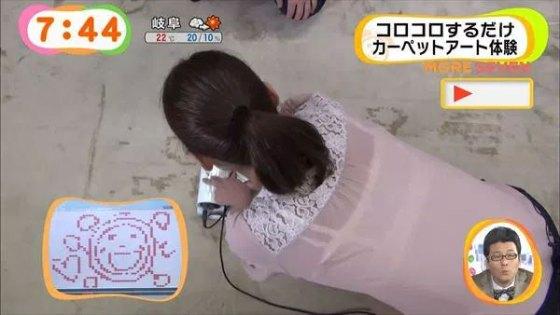 【放送事故画像】テレビでうっすら下着透けさして見せてる女達www 11