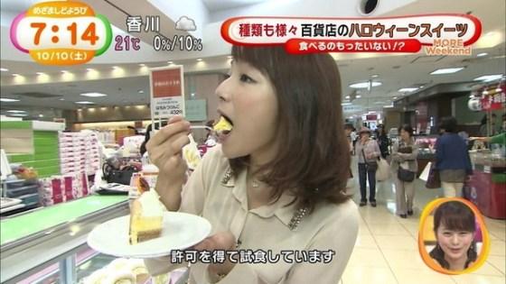 【放送事故画像】食べ方エロい!表情もエロいw何食べててもエロい疑似フェラww 12