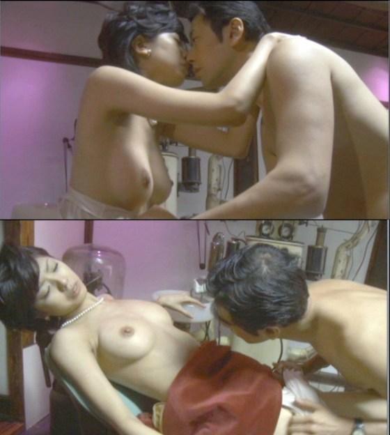 【お宝エロ画像】必見!女優たちの濡れ場シーンをかき集めましたwww 15