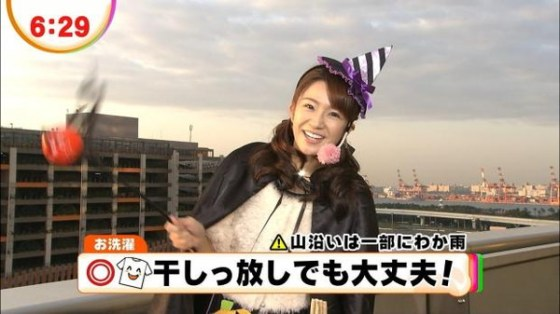 【放送事故画像】女子アナ達のエロ可愛いハロウィンコスプレwww 06