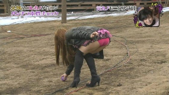 【放送事故画像】パンツも水着も一緒なんだから見られても平気と思ってる女達www 15