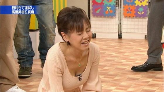 【放送事故画像】巨乳美女がテレビに出てるって聞いたんだが・・・こりゃやべぇww 14