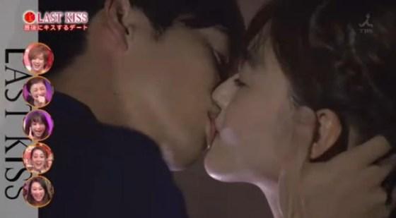 【放送事故画像】セックスする合図はやっぱりキス?ドラマなどで映ったキスシーンww 08