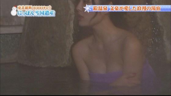 【放送事故画像】温泉レポ―としてる女のバスタオル取れたらいいのにっていつも思ってしまうよなww 14
