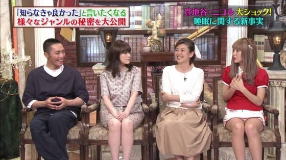 【放送事故画像】テレビでパンツ見えてようが別に平気な女達www 08