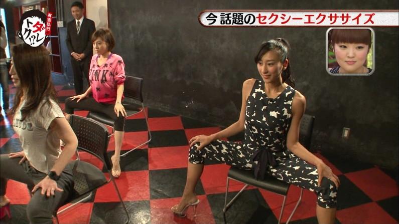 【放送事故画像】いつでも準備OKよ!テレビなのに大股開いて誘惑する女達ww 12