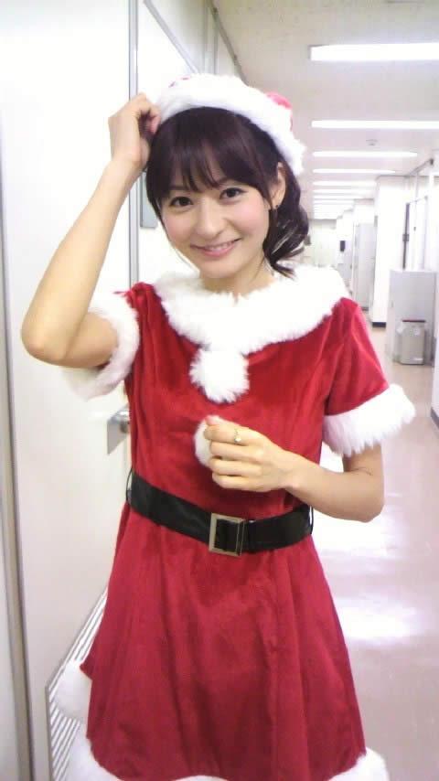 【放送事故画像】メリークリスマス!って事でサンタコスした女達のプレゼントだーwww 09