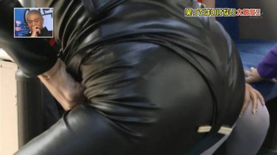 【放送事故画像】テレビでお尻突きだしちゃって形も大きさも丸わかりな女達www 03