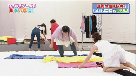 【放送事故画像】テレビでお尻突きだしちゃって形も大きさも丸わかりな女達www 05