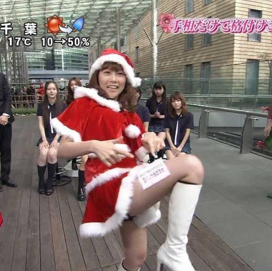 【放送事故画像】プレゼントは、わ、た、し♡女子アナやアイドル達のサンタコス画像www 05