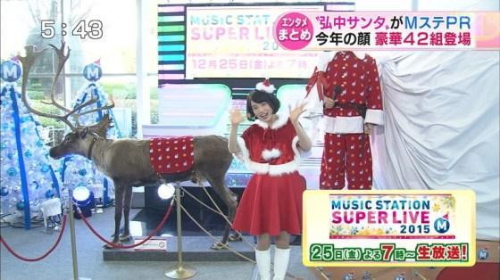 【放送事故画像】プレゼントは、わ、た、し♡女子アナやアイドル達のサンタコス画像www 21