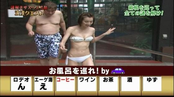 【放送事故画像】いつ見てもやっぱり水着や下着からこぼれそうなオッパイ最高www 14