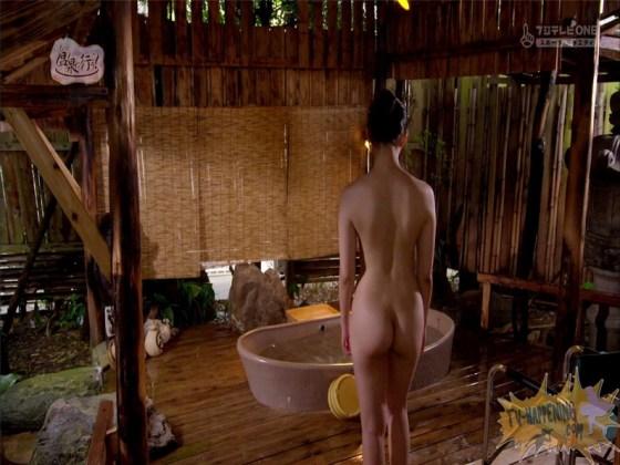 【お宝エロ画像】もっと温泉に行こうでゆっくりと服を脱いでいく姿に興奮しない?ww 11