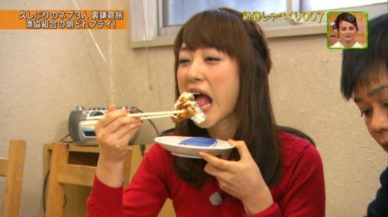 【放送事故画像】エロい食べ方してフェラの練習!そんなフェラ顔を放送中www 20