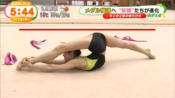 【放送事故画像】完全に股間狙いのカメラアングルが卑猥すぎてやばいwww 03