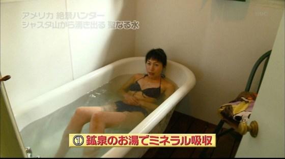 【放送事故画像】温泉レポやってても効能より絶対谷間の方が気になるよなwww 04