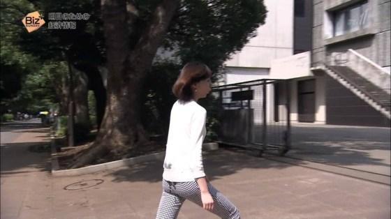【放送事故画像】女子アナがピッタリしたパンツ履いてお尻のラインが丸分かりww 22