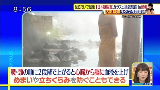 【放送事故画像】女子アナやアイドルがお風呂入ってたら必ずポロリ期待しちゃうよなww 15
